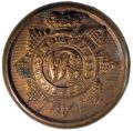 QUEEN VICTORIA CROWN 1885. BOMBAY MEDICAL STAFF BUTTON